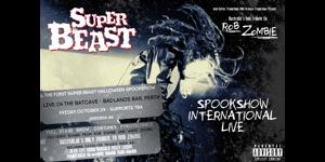 Superbeast- The Halloween Spookshow