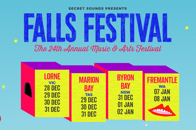 THE FALLS MUSIC & ARTS FESTIVAL North Byron Parklands