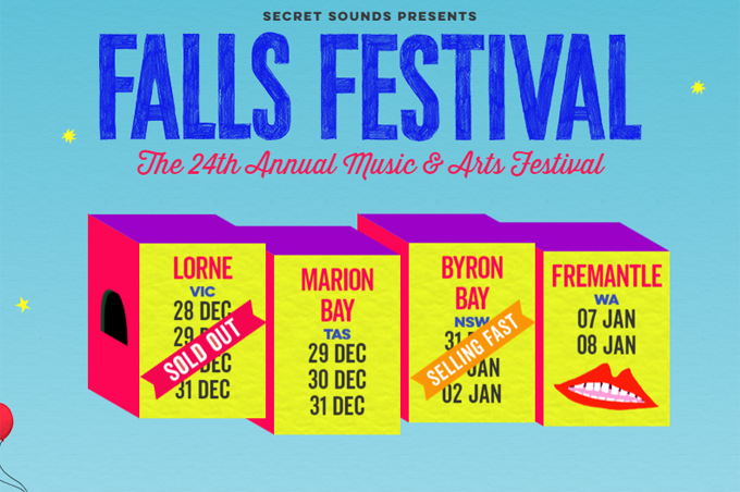 THE FALLS MUSIC & ARTS FESTIVAL - BYRON North Byron Parklands