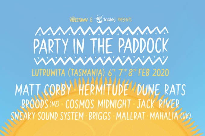 Party In The Paddock 2020 White Hills