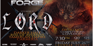 FORGE - LORD Album Launch