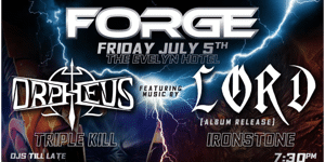 FORGE Metal Night // Melbourne // July Edition