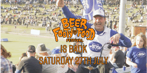 The Beer Footy & Food Festival - 2019