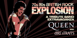 70s 80s British Rock Explosion: Queen & Dire Straits