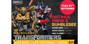 Melbourne Transformers Meet & Greet at The Somerville Hotel