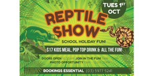 Reptile Show at Somerville Hotel