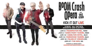 Boom Crash Opera with Dale Ryder