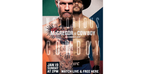 UFC 246 - VIP Package