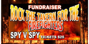 ROCK THE TAVERN - Fundraiser for the Fire Fighters
