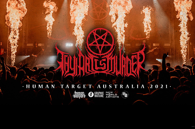 Thy Art Is Murder - Brisbane The Triffid