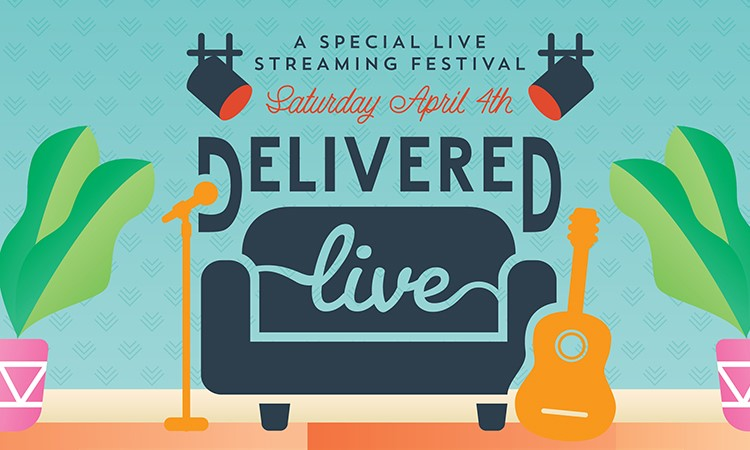 Delivered Live Festival Live Streaming