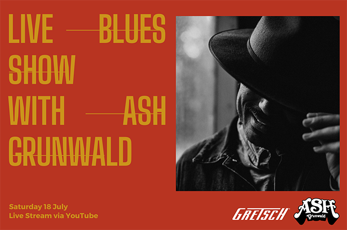 Live Blues Show with Ash Grunwald Live Streaming WORLDWIDE
