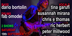Peter Northcote Presents ISO GIGS LIVE - EARLY SHOW