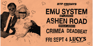 Emu System, Ashen Road, Crimea & Deadbeat