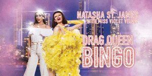 Drag Queen Bingo Oct 7th - 6pm