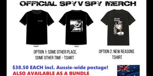 OFFCIAL SPY V SPY MERCHANDISE