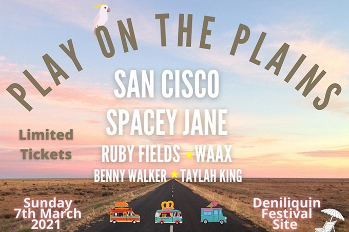 Play On the Plains 2021 Deniliquin Festival Site