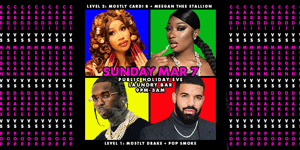 Cardi X Meegan X Drake X Pop - PUBLIC HOLIDAY EVE