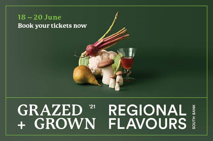Grazed and Grown - Sunday 20 June: 11am - 3pm South Bank Parklands