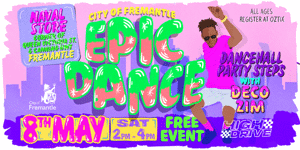 EPIC Dance Workshop: Dancehall Party Steps with Decozim