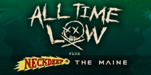 All Time Low Australian Tour - 18+