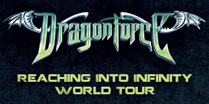Dragonforce Reaching Into Infinity Australian Tour