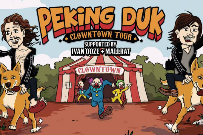 PEKING DUK'S CLOWNTOWN TOUR UC Refectory, Canberra