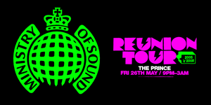 MINISTRY OF SOUND: REUNION TOUR - THE ANNUAL 2005 x 2008