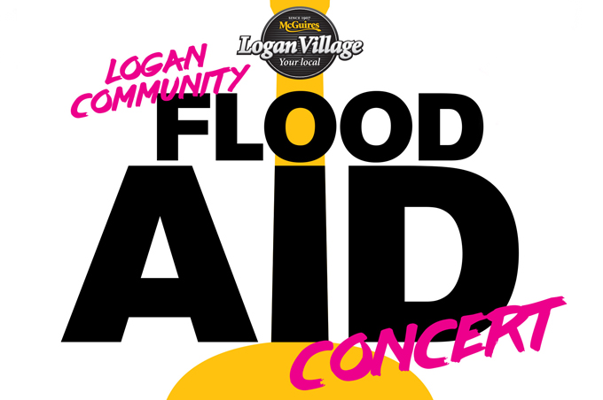Logan Community Flood Aid Concert The Logan Village Hotel