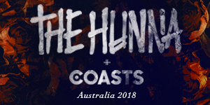 The Hunna and Coasts Australian Tour