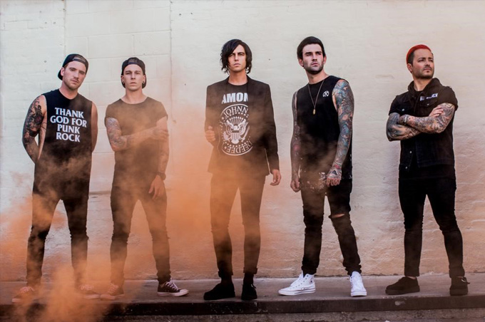 Sleeping With Sirens Eatons Hill Hotel - Grand Ballroom