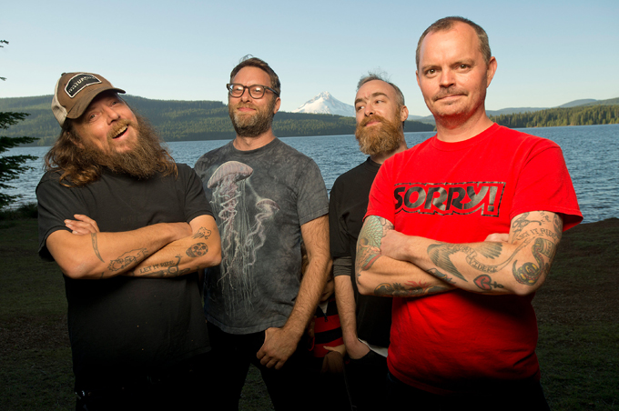 Red Fang Australian Tour Fowlers Live