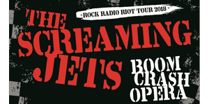 The Screaming Jets & Boom Crash Opera - ROCK RADIO RIOT