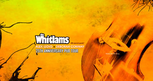 The Whitlams - 25th Anniversary Pub Tour