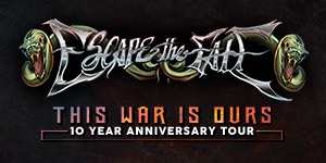 Escape The Fate 'This War Is Ours' 10 yr Anniversary Tour