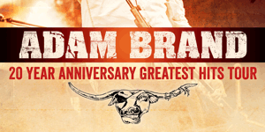 Adam Brand - 20 years Milestones Tour