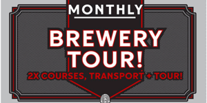 Cooper Alehouse 23 November Brewery Tour & 2 Course Lunch