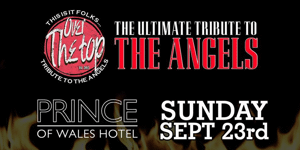 Over The Top - Angels Tribute Live at the Prince