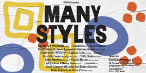 RTRFM presents Many Styles