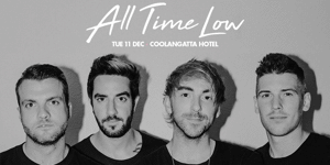 All Time Low Australian Tour 2018