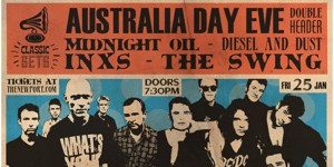 Midnight Oil & INXS Tribute