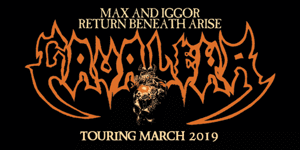 Max & Iggor Cavalera Return Beneath Arise Australian Tour 2019