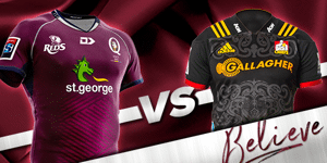 St.George Queensland Reds V Chiefs Trial Match